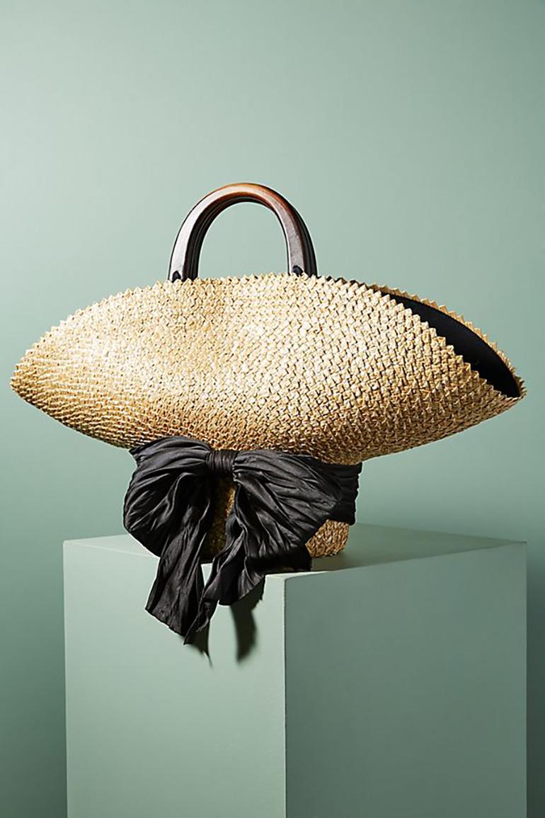 Eugenia Kim straw hat bag